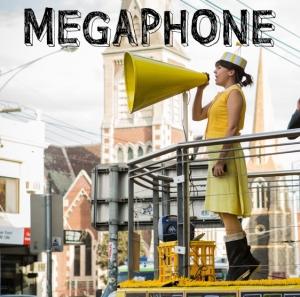 megaphone sign